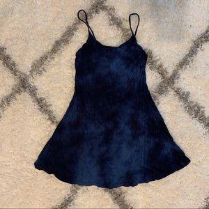 Tie dye tank top dress